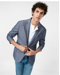 Express Slub Linen Cotton Blazer