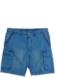 Closed Cotton Cargo Shorts