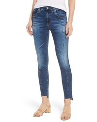 Ag the high rise farrah ankle skinny jeans medium 4412997