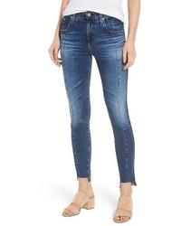 Ag the high rise farrah ankle skinny jeans medium 4412997