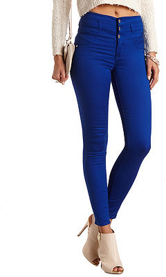 Charlotte Russe Refuge Hi Waist Super Skinny Colored Jeans | Where ...