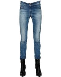 Diesel Slandy Cotton Denim Skinny Jeans