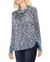 Vince Camuto Two By Funnel Neck Pullover