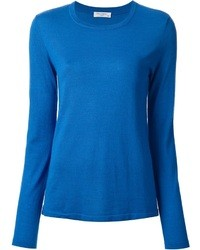 Blue crew neck sweater original 1327155