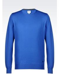 Armani Collezioni Sweater In Virgin Wool