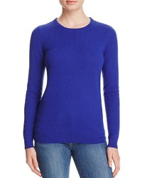 C By Bloomingdales Crewneck Cashmere Sweater 100%