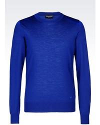 Emporio Armani Sweater In Virgin Wool