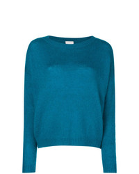 Alysi Long Sleeve Fitted Sweater