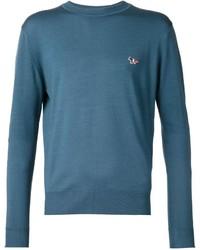 MAISON KITSUNÉ Maison Kitsun Crew Neck Sweater