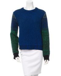Proenza Schouler Cashmere Wool Blend Crew Neck Sweater