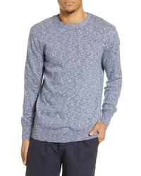Scotch & Soda Regular Fit Cotton Blend Crewneck Sweater