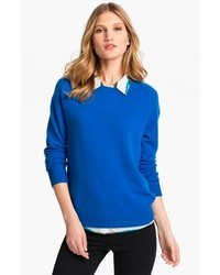 Sloane crewneck cashmere sweater medium 136324