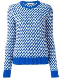 Wavy knit jumper medium 692592