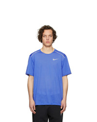 Nike Blue Rise 365 T Shirt