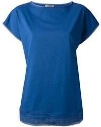 Bottega Veneta Slash Neck T Shirt