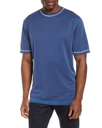 Bugatchi Contrast Stitch T Shirt