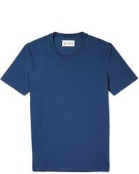 Maison Margiela Cotton Jersey Crew Neck T Shirt