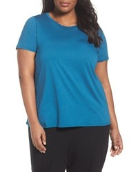 Plus size organic cotton crewneck tee medium 5035246