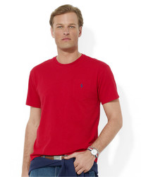 polo ralph lauren t shirt core standard fit polo pocket tee shirt 45. Black Bedroom Furniture Sets. Home Design Ideas