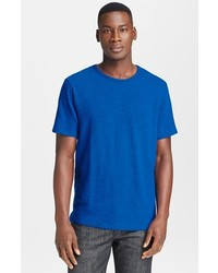 Orlebar brown round neck t shirt where to buy how to wear for French blue t shirt