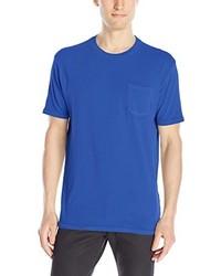 Blue Crew-neck T-shirt