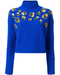 Studded cropped jumper medium 6793093