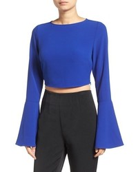 Bell sleeve crop top medium 844841