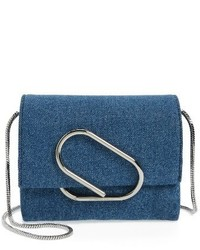 3.1 Phillip Lim Micro Alix Crossbody Bag Blue