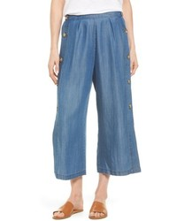 Catherine Malandrino Catherine Watson Wide Leg Crop Pants