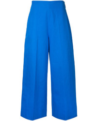 MSGM Cropped Wide Leg Trousers