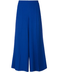 Salvatore Ferragamo Cropped Wide Leg Trousers