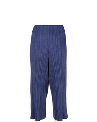 Issey Miyake Vintage Pleated Cropped Trousers