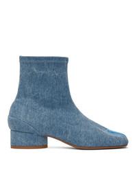 Maison Margiela Blue Denim I Boots