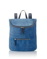 Derek Lam 10 Crosby Mercer Backpack Blue