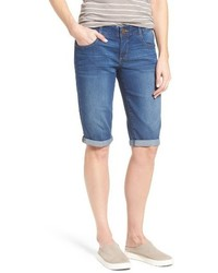 Wit & Wisdom Ab Solution Denim Bermuda Shorts