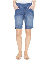 Jag Jeans Ainsley Pull On Bermuda Comfort Denim In Weathered Blue Shorts