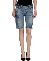 Met In Jeans Denim Bermudas