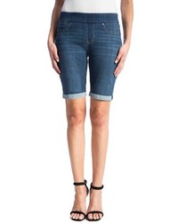 Sienna pull on denim bermuda shorts medium 3830099