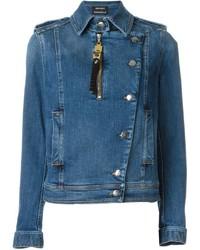 Denim biker jacket medium 533438