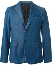 Two button denim blazer medium 325891