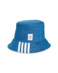 Thom Browne 4 Bar Denim Bucket Hat