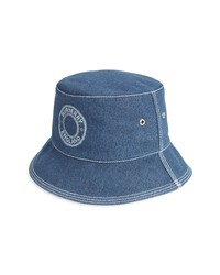 Burberry Logo Denim Bucket Hat
