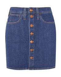 Madewell Denim Mini Skirt