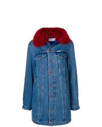 Forte Dei Marmi Couture Denim Coat