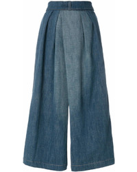 Loewe Culotte Denim Trousers