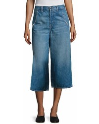 Vince Denim Culottes Blue Size 26