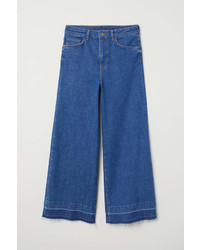 H&M Denim Culottes High Waist