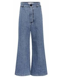 Marni High Waisted Denim Culottes