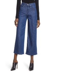 Hudson Jeans Holly High Waist Crop Wide Leg Jeans