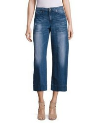 MICHAEL Michael Kors Michl Michl Kors Patch Pocket Denim Culottes